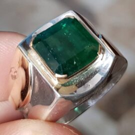 Real Big Swat Emerald RIng