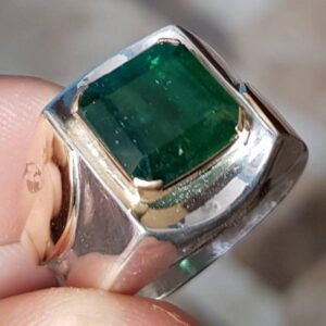 Real Big Swat Emerald RIng